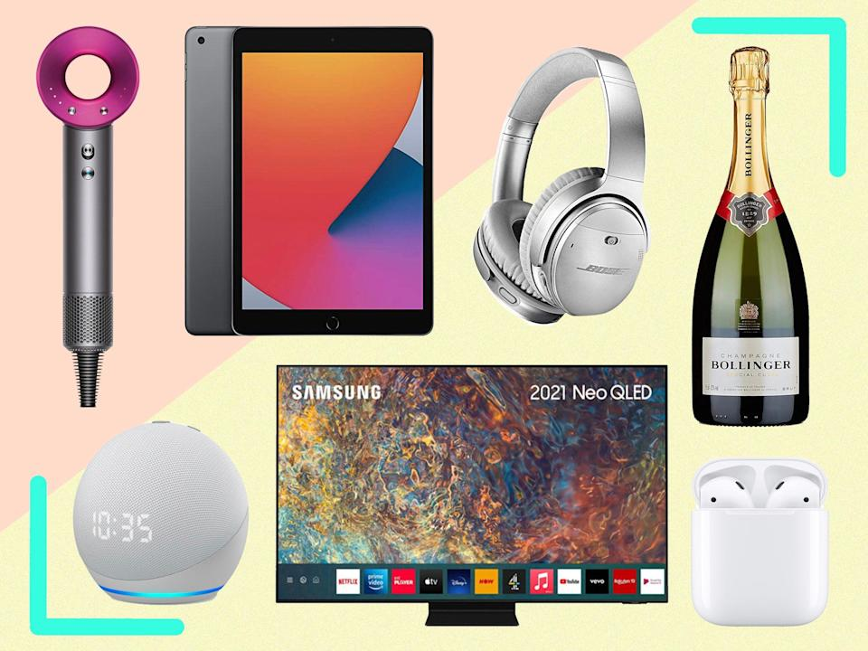 The shopping event includes discounts on everything from coffee machines to TVs, headphones and more (The Independent)