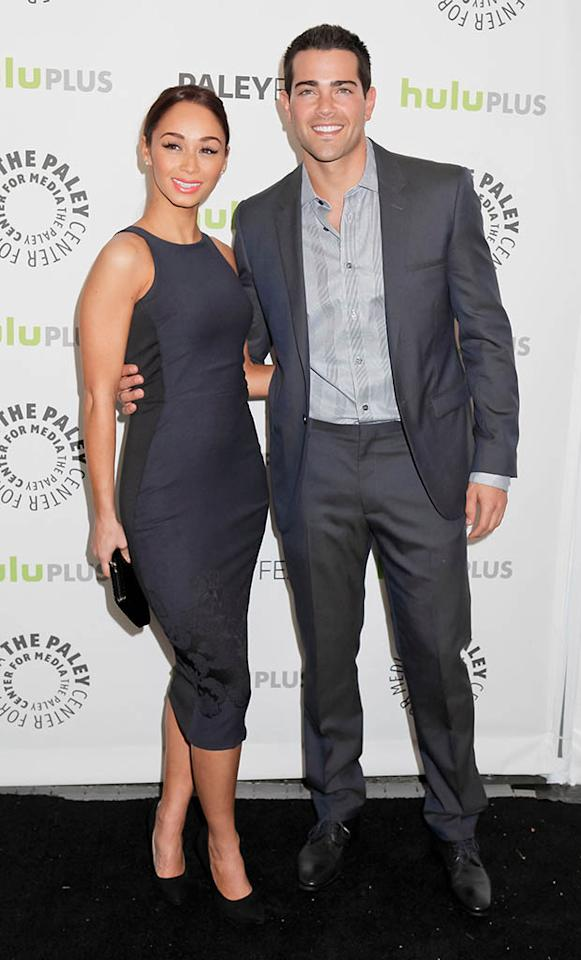 "Cara Santana and Jesse Metcalfe attend the 30th Annual PaleyFest featuring the cast of ""Dallas"" at Saban Theatre on March 10, 2013 in Beverly Hills, California."