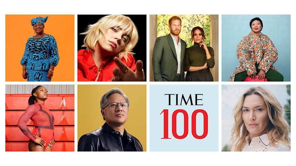 TIME100 2021 covers