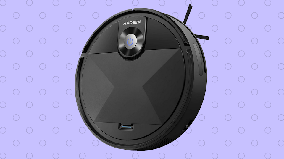 Unlike you, the Aposen robot vac doesn't have better things to do than vacuum your house.  (Photo: Amazon)