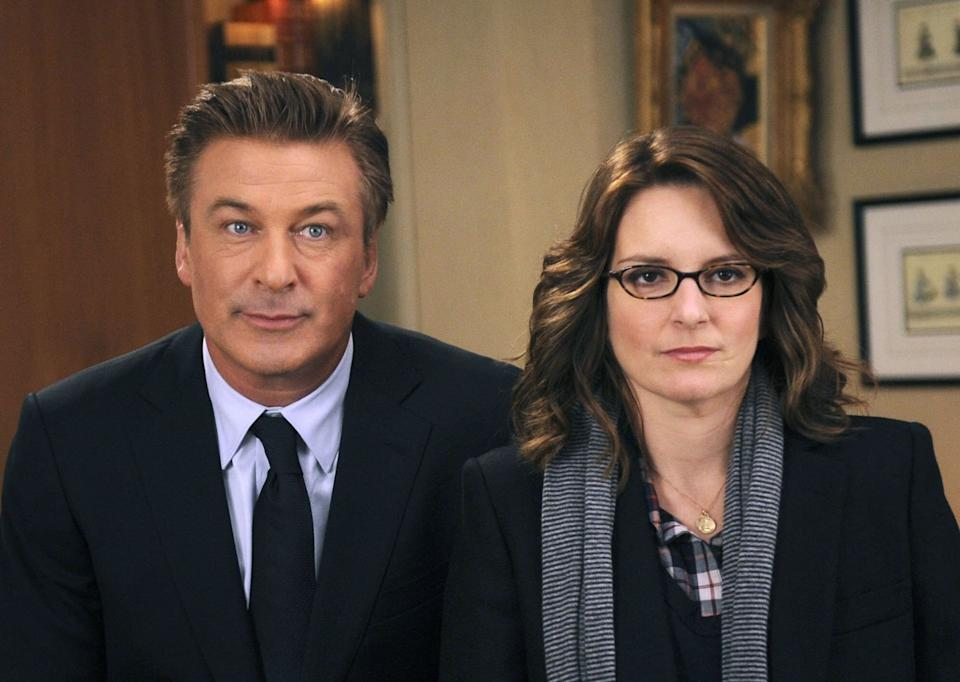 """Alec Baldwin, Tina Fey and the rest of the """"30 Rock"""" will return to NBC for a one-night-only special. (Photo: NBC via Getty Images)"""