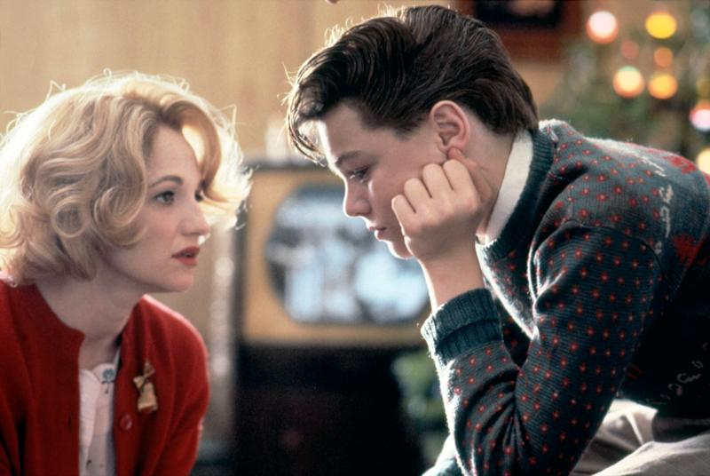 "Ellen Barkin and Leonardo DiCaprio in ""This Boy's Life."" (Photo: Sunset Boulevard via Getty Images)"