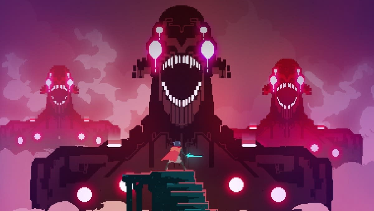 <p>You'd be forgiven if you've never heard of this stylish action role-playing game, though you've definitely heard of the games it recalls: <i>Diablo</i> and <i>The Legend of Zelda</i>. <i>Hyper Light Drifter</i> is very much its own beast, however, starring a sword-wielding hero who hacks and slashes through a futuristic world in search of a long-forgotten cure.</p>