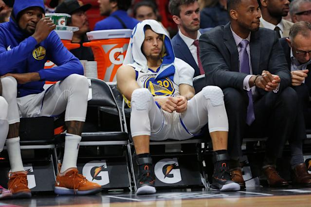 This season hasn't been easy for the Warriors. (AP)