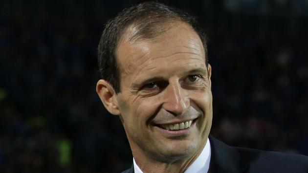 <p>I'm happy at Juventus - Allegri rejects Italy speculation</p>