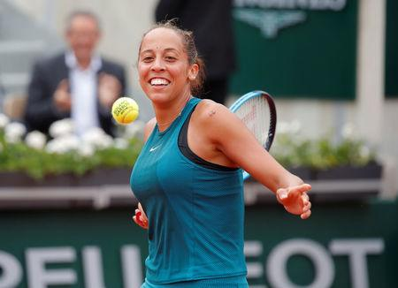 Keys reaches first Roland Garros semi