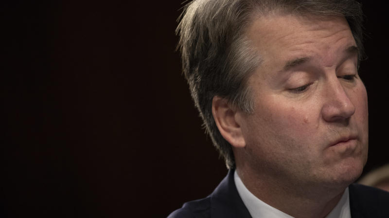 GOP Aide In Kavanaugh Confirmation Resigns As Sexual Harassment Claim Surfaces
