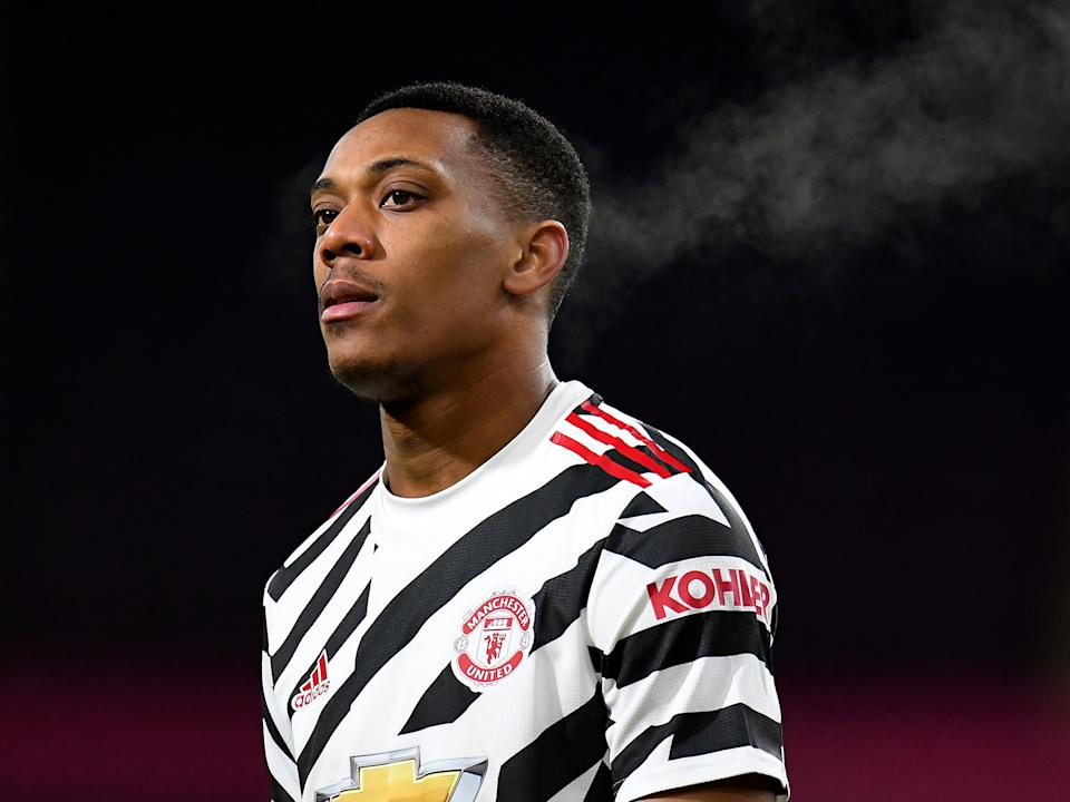 Manchester United striker Anthony Martial (Getty Images)