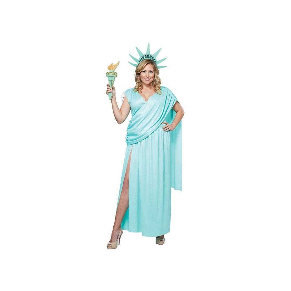 """<p><strong>California Costumes</strong></p><p>amazon.com</p><p><a href=""""http://www.amazon.com/dp/B00IOHJ9J4/?tag=syn-yahoo-20&ascsubtag=%5Bartid%7C10072.g.28615520%5Bsrc%7Cyahoo-us"""" rel=""""nofollow noopener"""" target=""""_blank"""" data-ylk=""""slk:SHOP NOW"""" class=""""link rapid-noclick-resp"""">SHOP NOW</a></p><p>This costume is cute, comfortable, and affordable. It's—dare we say it—totally lit. </p>"""