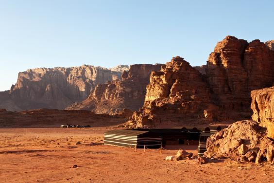 Cruise the sand dunes in Wadi Rum (Getty)