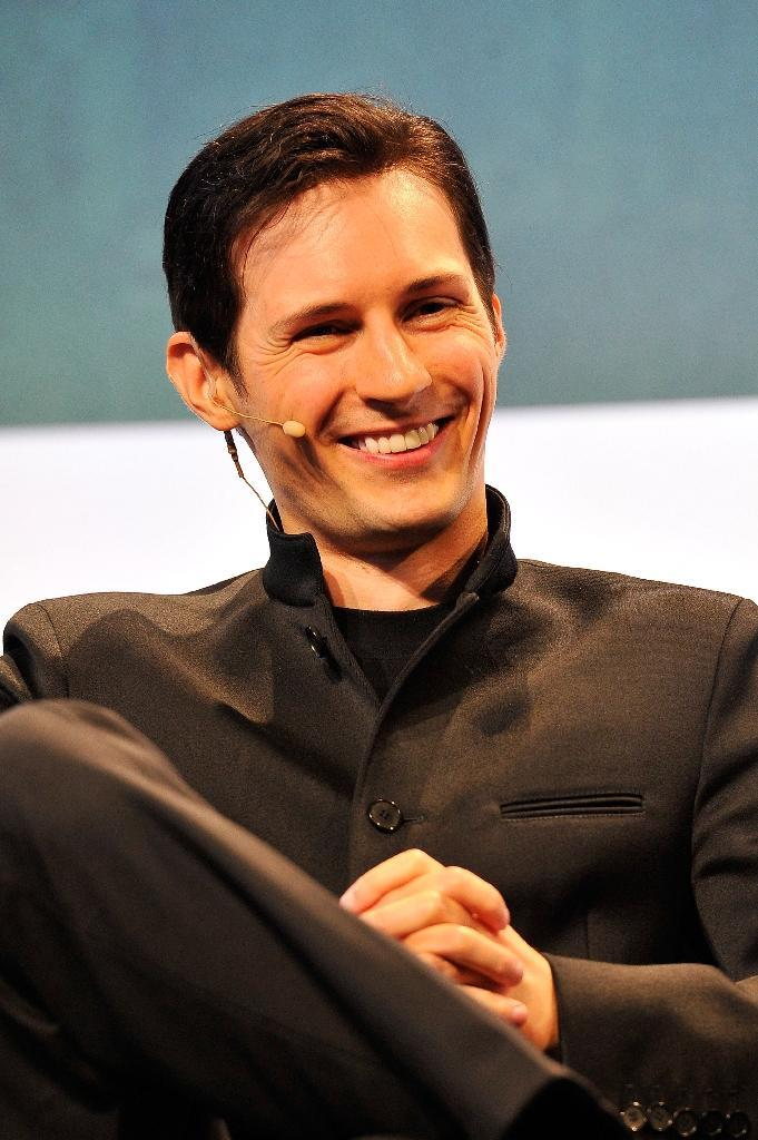 Telegram CEO Pavel Durov has pointed at China over the massive cyber-attack on its servers, linking it to the ongoing protests in Hong Kong (AFP Photo/Steve Jennings)