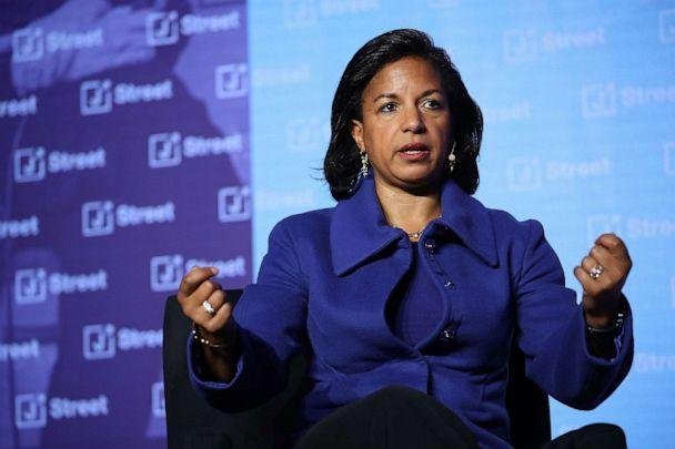 PHOTO: Former National Security Advisor Susan Rice speaks at the J Street 2018 National Conference April 16, 2018, in Washington, DC. (Win Mcnamee/Getty Images)