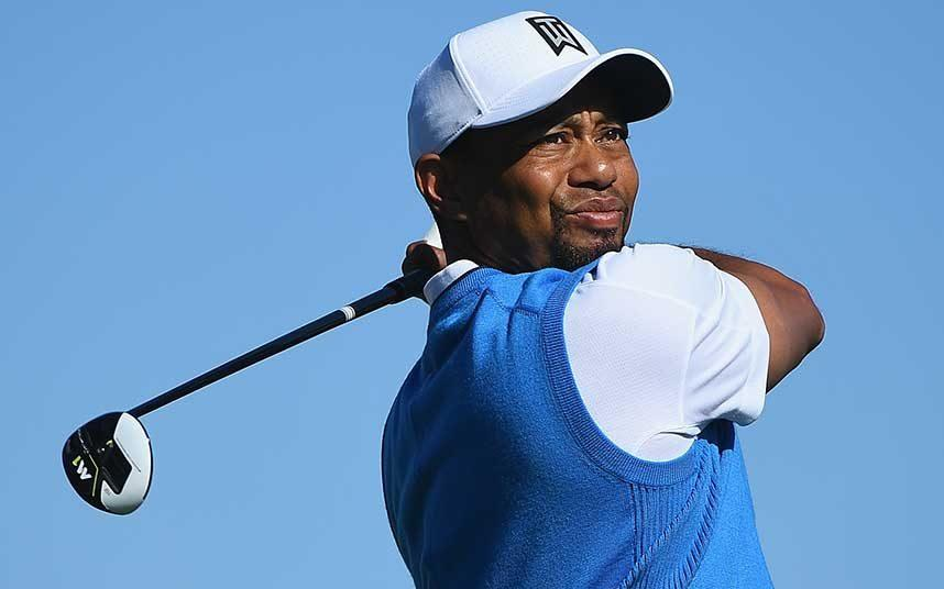 Tiger Woods action