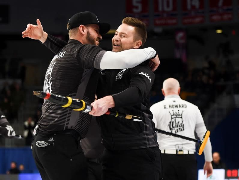 McEwen takes Brier wild-card berth with win over Howard in play-in game