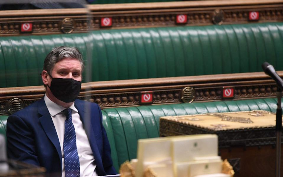 Keir Starmer has so far failed to inspire the public - GETTY IMAGES