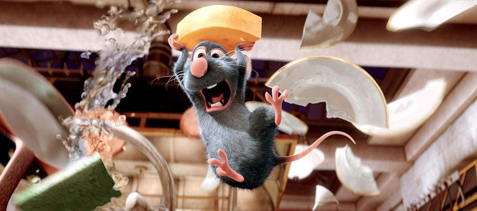 Usually seeing a rat in a kitchen would create mass panic, but not in this case. Watching Remy pursue his lifelong dream of becoming a chef must have resonated with its audience because the movie made a whopping $650 million at the box office. Maybe you'll think differently the next time you see a rodent scurrying around…OK, maybe not.