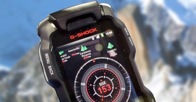 Casio S New Smartphone Looks Like An Oversized Watch Might