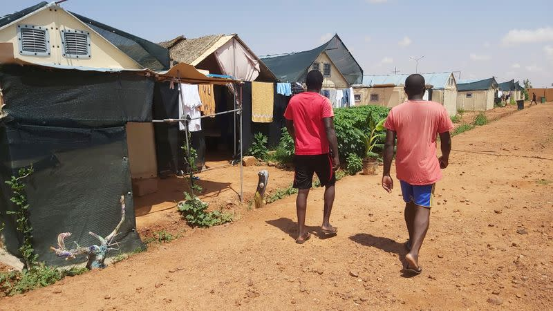 Locked out by COVID, refugees' lives on hold