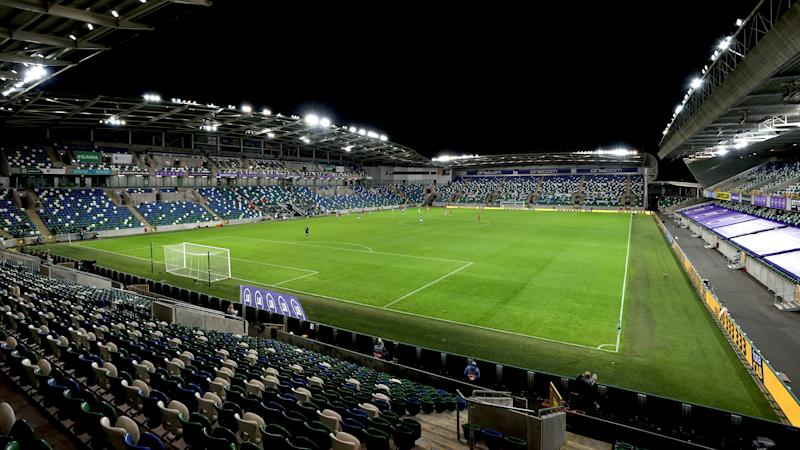 Northern Ireland to welcome 600 fans to Windsor Park for Austria clash
