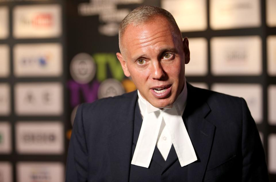 Judge Robert Rinder at the 2017 Edinburgh International Television Festival at the Edinburgh International Conference Centre. (Photo by Jane Barlow/PA Images via Getty Images)