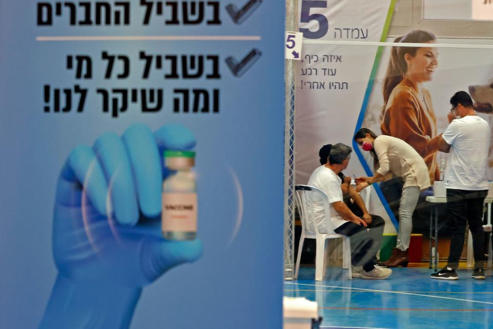 Image result for israel covid-19 vaccination