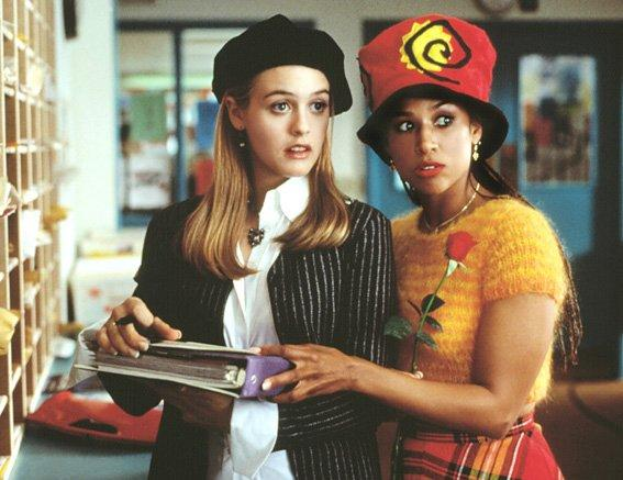"""<p>With her beret, pinstriped jacket and crisp button-down, Cher looks like a pro while playing match-maker to her two teachers: Mr. Hall and Miss Geist.</p> <p><strong>Shop It: </strong>Deewang Beret, $10; <a href=""""https://www.amazon.com/Deewang-Womens-Solid-Color-French/dp/B078XGWX12/?ie=UTF8&camp=1789&creative=9325&linkCode=as2&creativeASIN=B078XGWX12&tag=instycom00-20&ascsubtag=d41d8cd98f00b204e9800998ecf8427e"""" target=""""_blank"""">amazon.com</a>. Everlane Relaxed Poplin Shirt, $55; <a href=""""https://www.pjatr.com/t/8-9711-131940-104709?sid=IS%2CHerSchemingOutfit%2C%2C%2CIMA%2C389830%2C201907%2CI&url=https%3A%2F%2Fwww.everlane.com%2Fproducts%2Fwomens-relaxed-poplin-shirt-white"""" target=""""_blank"""">everlane.com</a>. Theory Pinstripe Jacket, $155; <a href=""""https://click.linksynergy.com/deeplink?id=93xLBvPhAeE&mid=35300&murl=https%3A%2F%2Fwww.bergdorfgoodman.com%2Fp%2Ftheory-off-the-shoulder-pinstripe-jacket-prod139350016&u1=IS%2CHerSchemingOutfit%2C%2C%2CIMA%2C389830%2C201907%2CI"""" target=""""_blank"""">bergdorfgoodman.com</a>.</p>"""