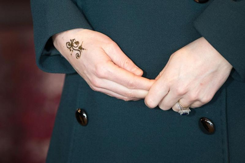 We're pretty sure this is the only time notoriously conservative Kate will get a tatt. Photo: Getty