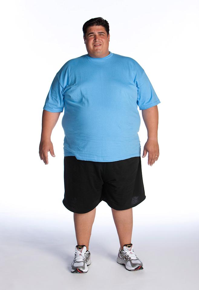 "Julio Gomez competes on the eighth season of <a href=""/biggest-loser/show/37103"">""The Biggest Loser.""</a>"