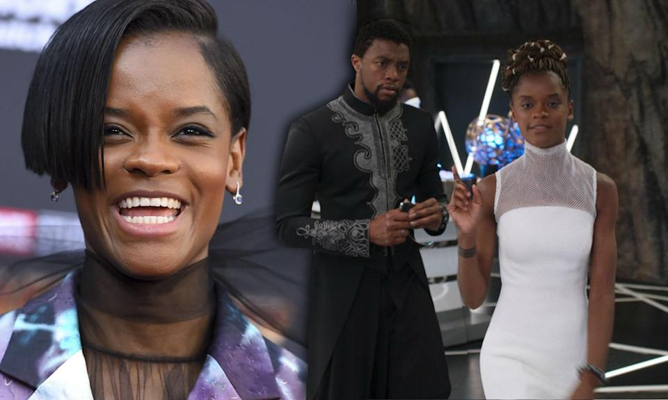 Letitia Wright came up with one of the best lines in Black Panther
