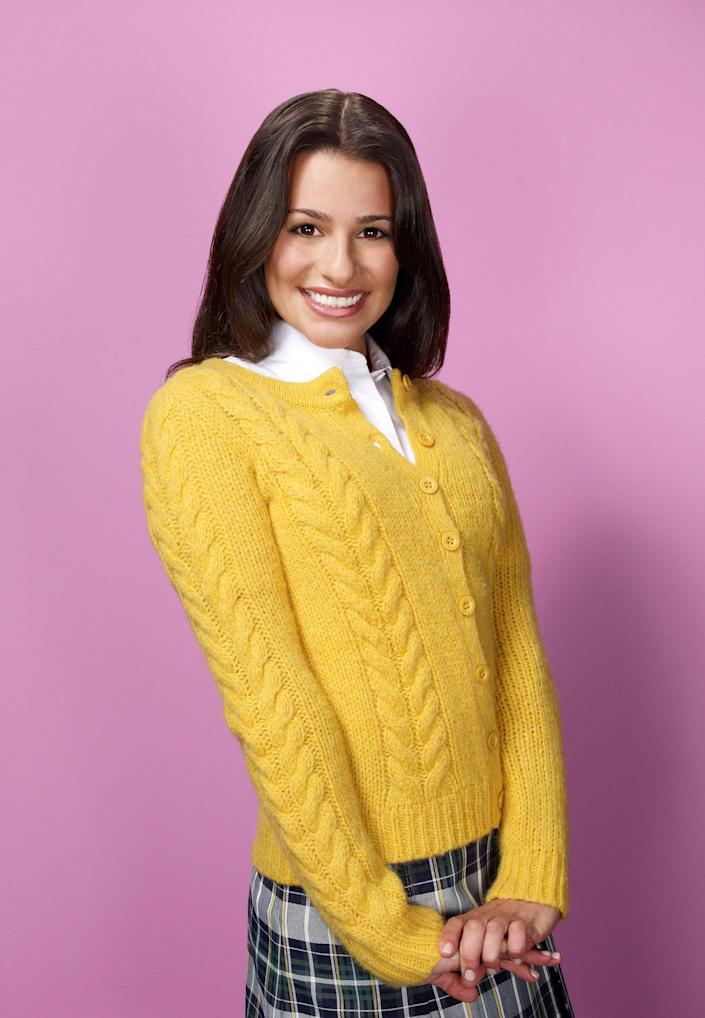 GLEE: Lea Michele as Rachel on GLEE, the new one-hour comedy musical series premieres Wednesday, Sept. 9 (9:00-10:00 PM ET/PT) on FOX. (Photo by FOX Image Collection via Getty Images)