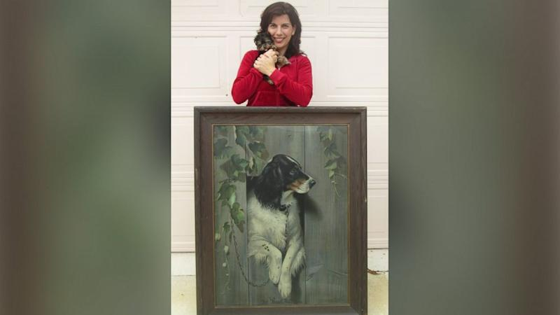 Florida Woman Finds Rare Lithograph Print at Goodwill