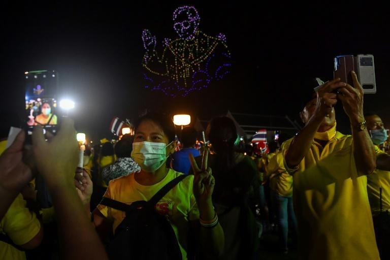 Months of pro-democracy protests have sharpely divided Thais into pro and anti-royalist camps