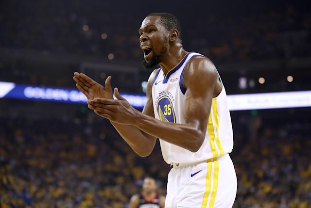 Kevin Durant (Photo by Ezra Shaw/Getty Images)