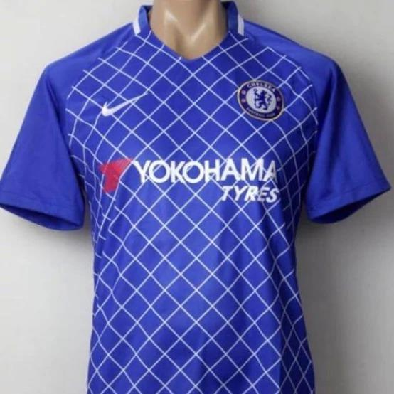 <p>Chelsea's home kit – an alternative version – could look significantly different this season </p>