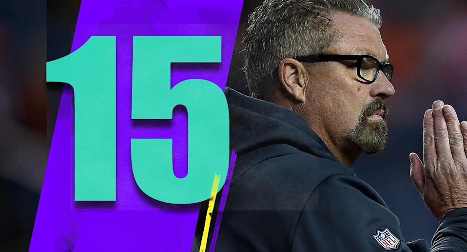<p>Let's just fast forward to the Dec. 31 news conference when GM John Dorsey is explaining how the Browns responded to Gregg Williams and that's why he's getting the full-time job, even though for the first time in forever the Browns will be the most attractive head-coaching opening in the league. (Gregg Williams) </p>