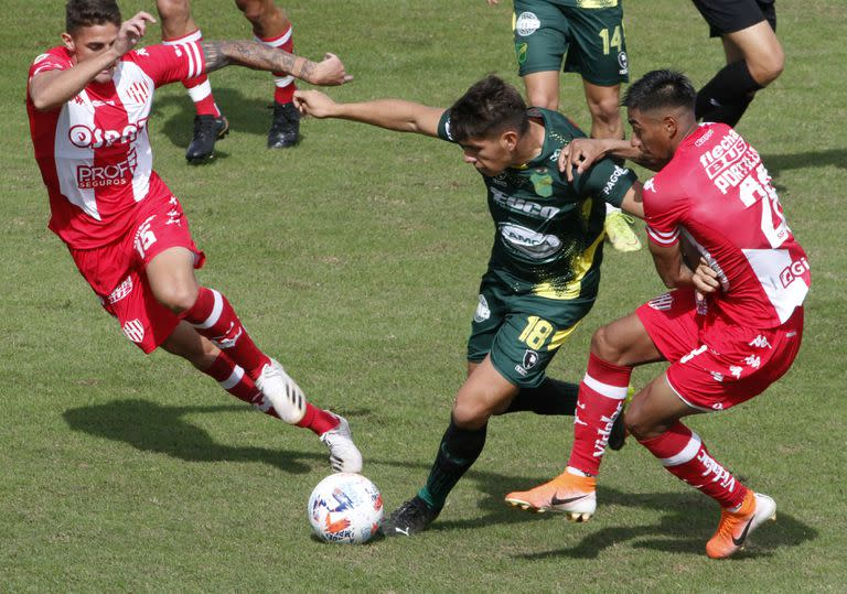 Defensa y Justicia 0 vs. Unión 1.