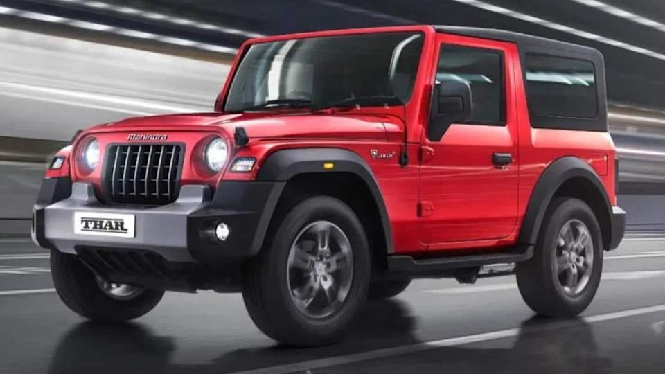 Shortage of semiconductor chips delays Mahindra Thar
