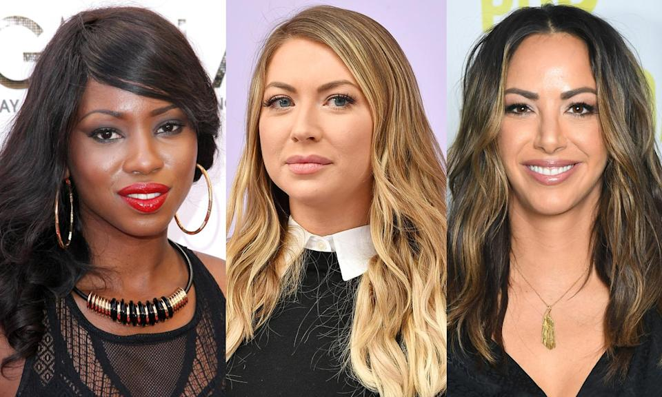 Faith Stowers, Stassi Schroeder and Kristen Doute. (Photo: Getty Images)
