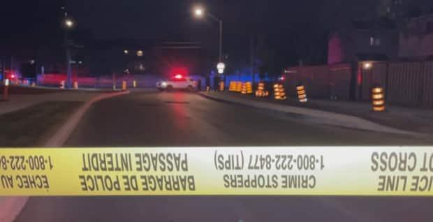 The accused was one of two people shot on Thursday night near the intersection of Albion and Heatherington roads. Both victims will survive. (CBC - image credit)