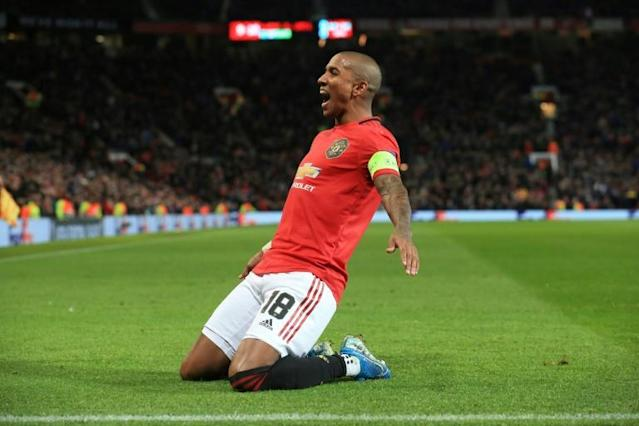 Manchester United captain Ashley Young is on the move to Serie A (AFP Photo/Lindsey Parnaby)