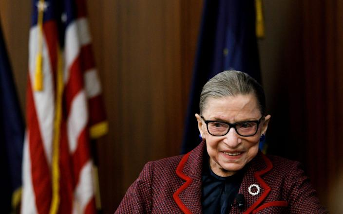 Ginsburg has been hospitalised several times in recent years - EPA