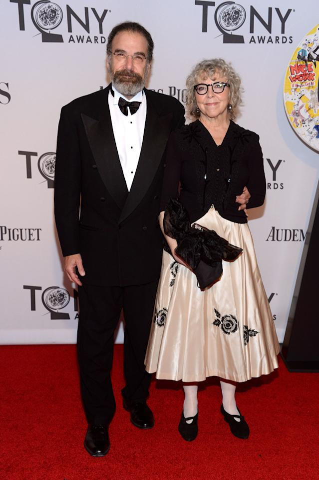 Mandy Patinkin and Kathryn Grody attend the 66th Annual Tony Awards at The Beacon Theatre on June 10, 2012 in New York City.