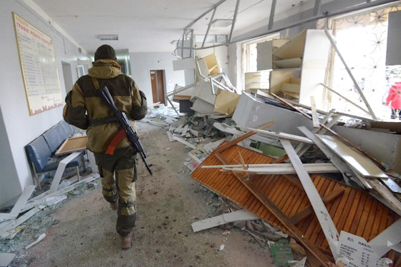 Over 9,000 people have been killed since the start of the conflict in eastern Ukraine in April 2014 (AFP Photo/Dominique Faget)