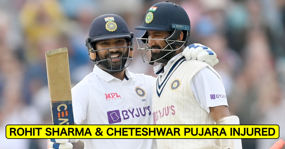 England vs India, 2021: Injured Rohit Sharma & Cheteshwar Pujara Not To Take Field On Day 4 At The Oval