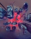 """FILE PHOTO: A detail shot from a collage """"EVERYDAYS: THE FIRST 5000 DAYS"""" by a digital artist BEEPLE"""