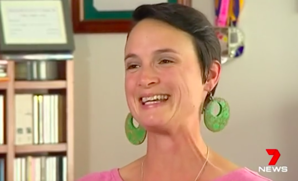 Heidi Farrelly paid off her mortgage in just 10 years. Source: 7 News