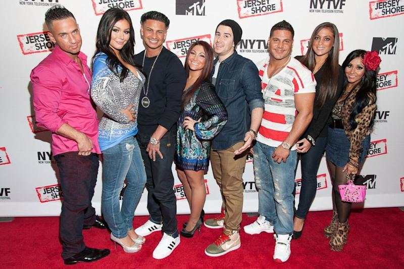 The original cast of Jersey Shore   Dave Kotinsky/Getty Images
