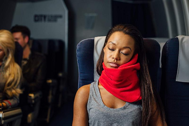 This super popular travel pillow is