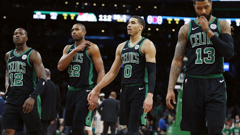 innovative design 3bbec edafd Marcus Morris on Celtics: 'When I look at us I see a bunch ...
