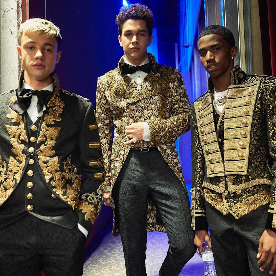 Opening both of Dolce & Gabbana's star-studded menswear shows, the rising star had the best Fashion Week ever.